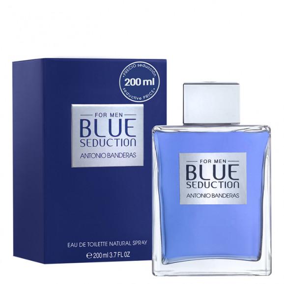 Perfume Blue Seduction For Men EDT Masculino 200ml Antonio Banderas
