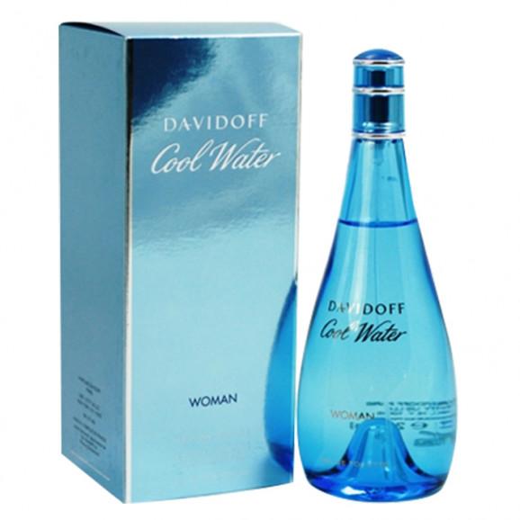 Perfume Cool Water Woman EDT Feminino 100ml - Davidoff