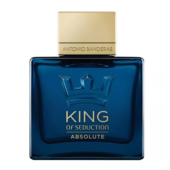 Perfume King Of Seduction Absolute Masculino EDT 50ML Antonio Banderas