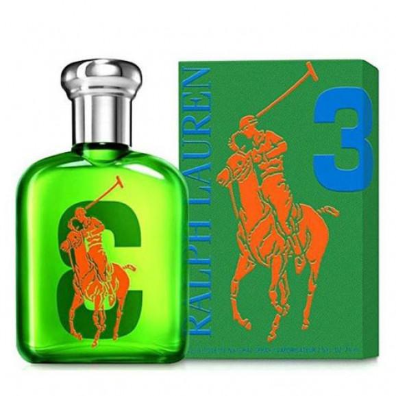 Perfume Polo Big Pony Green 3 EDT Masculino - Ralph Lauren-40ml
