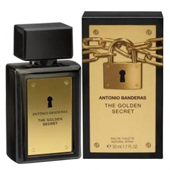 Perfume The Golden Secret Masculino - Antonio Banderas