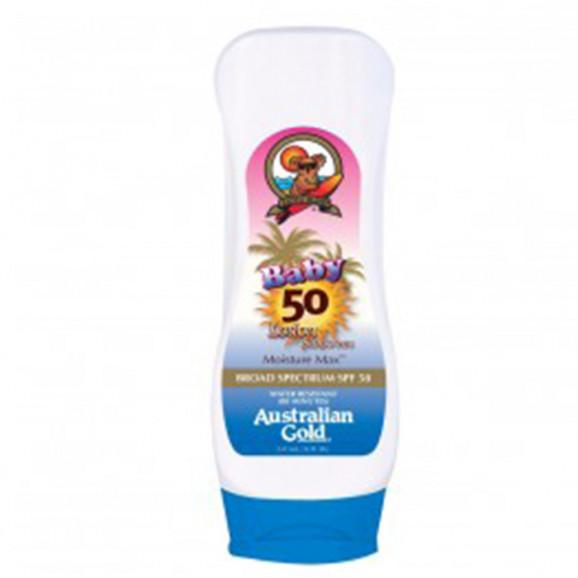 Australian Gold Baby Formula SPF 50 Lotion Sunscreen- Protetor Solar 237ml