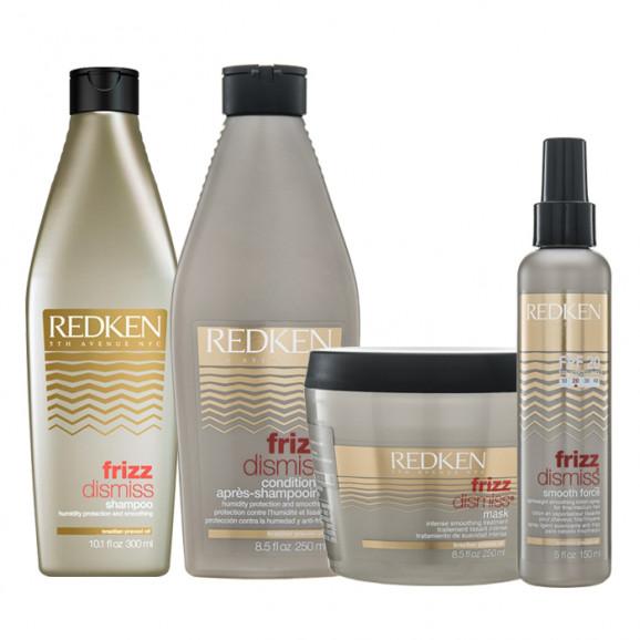Redken Frizz Dismiss Kit para Cabelos Médios (4 Produtos)