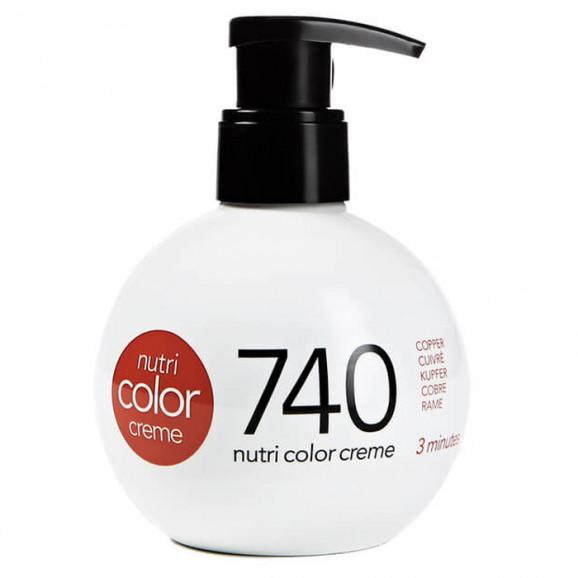 Coloração Creme Revlon Professional Nutri Color Creme 740 Cobre 250ml