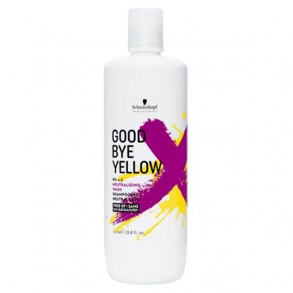 Shampoo Neutralizante Schwarzkopf Goood Bye Yellow 1000ml