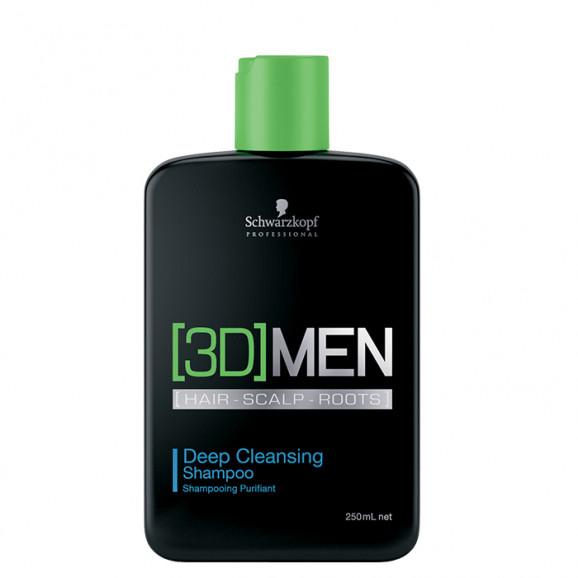 Schwarzkopf 3DMension Deep Cleansing - Shampoo 250ml