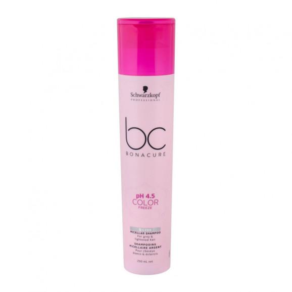 Shampoo Schwarzkopf BC Bonacure pH 4.5 Color Freeze Silver 250ml