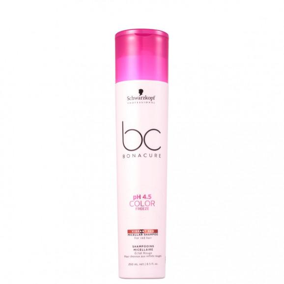 Shampoo Schwarzkopf BC Bonacure pH 4.5 Color Freeze Vibrant Red 250ml