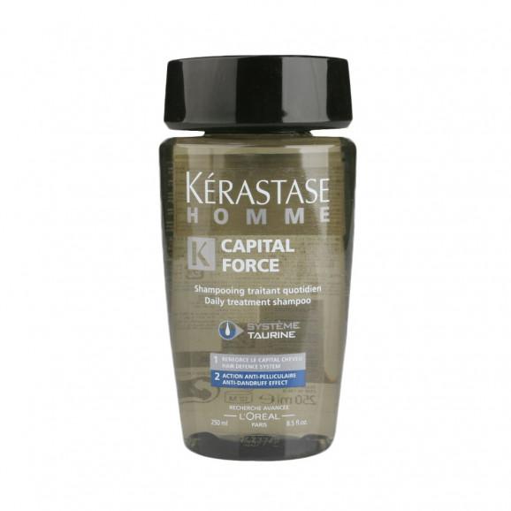Kérastase Homme Capital Force Bain Systéme Taurine Anticaspa - Shampoo 250ml