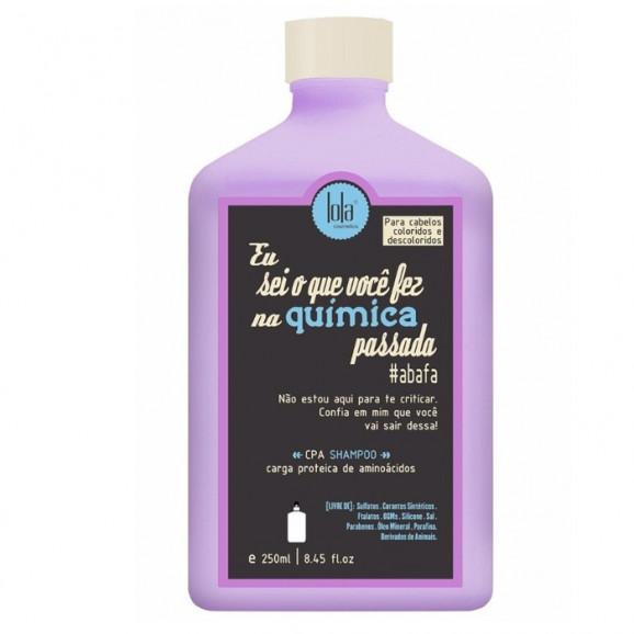 Shampoo Lola Cosmetics Eu Sei o Que Você Fez na Química Passada 250ml