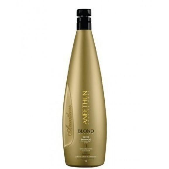 Shampoo Matizador Aneethun Blond System Silver 1000ml