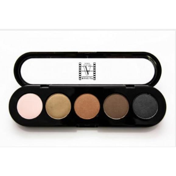 Paleta de Sombras T01 - Palette 5 Cores - Make Up Atelier Paris