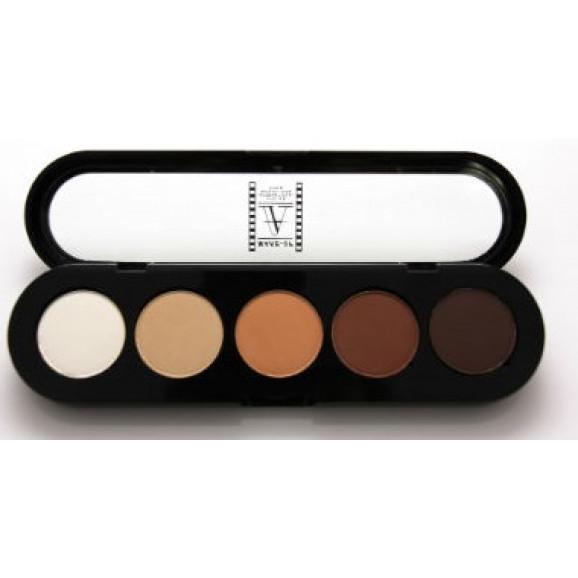 Paleta de Sombras T05 - Palette 5 Cores - Make Up Atelier Paris