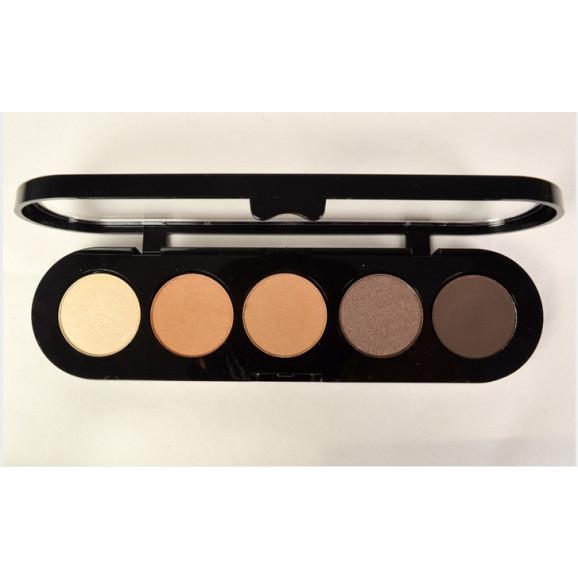 Paleta de Sombras T26 - Palette 5 Cores - Make Up Atelier Paris