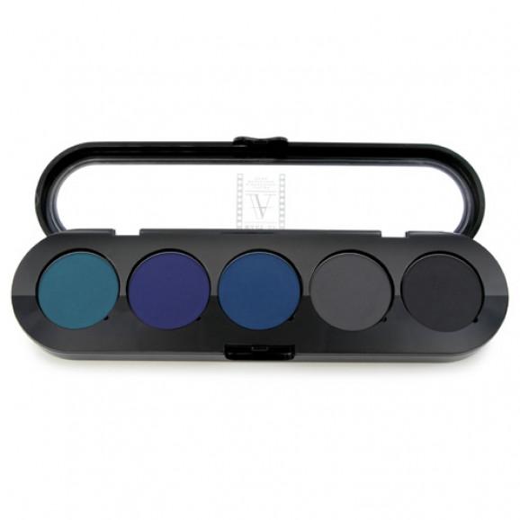 Paleta de Sombras Delineadores TE20 - Palette 5 Cores - Make Up Atelier Paris