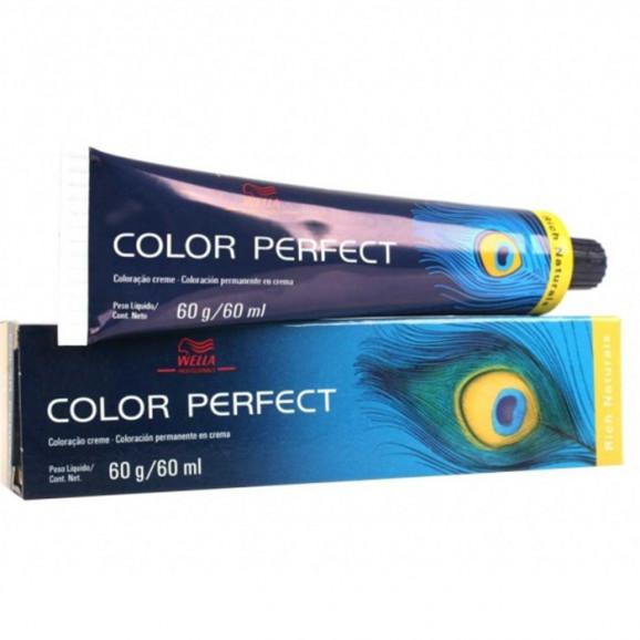 Tintura Wella Professionals Color Perfect - 60ml-7.45 - Louro Médio Vermelho Acaju