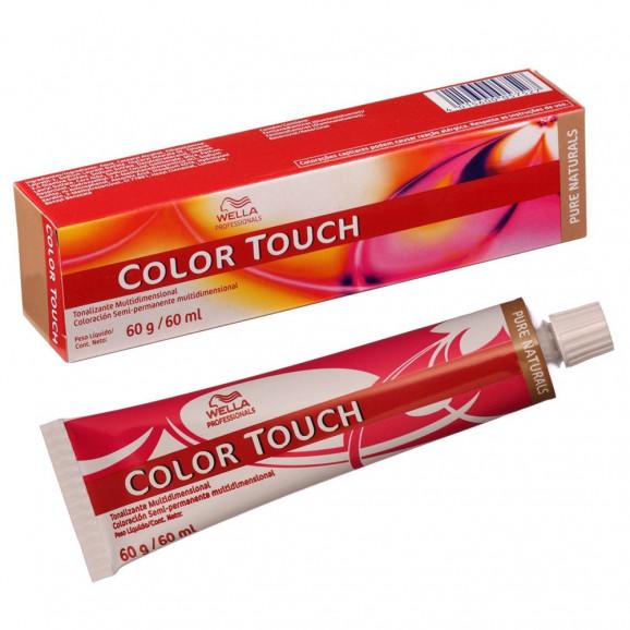 Tonalizante Wella Professionals Color Touch - 60ml-55.05 Plus - Castanho Claro Intenso Natural Acaju