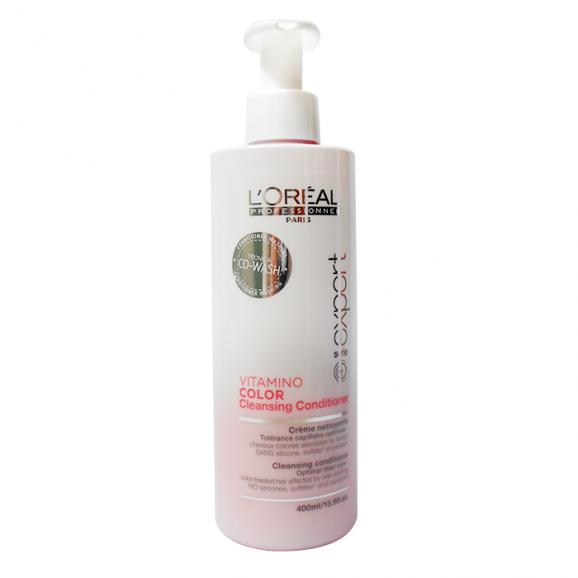 Creme de Limpeza Loreal Professionnel Vitamino Color Cleansing Conditioner 400ml