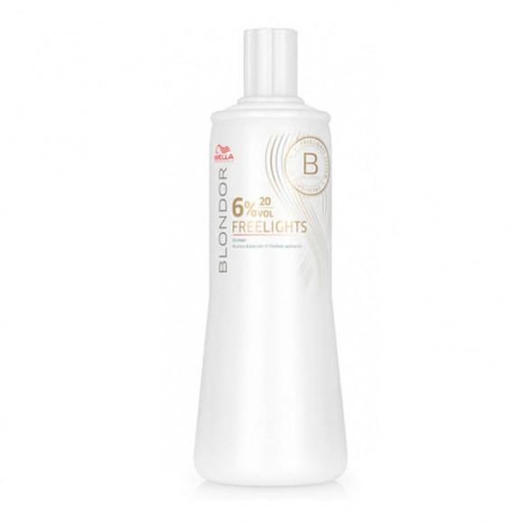 Wella Blondor Freelights Oxidante 6% 20 volumes  - 1000ml