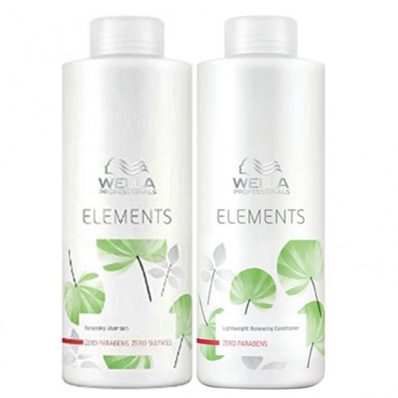 Wella Professionals Elements Kit Litro (2 Produtos)