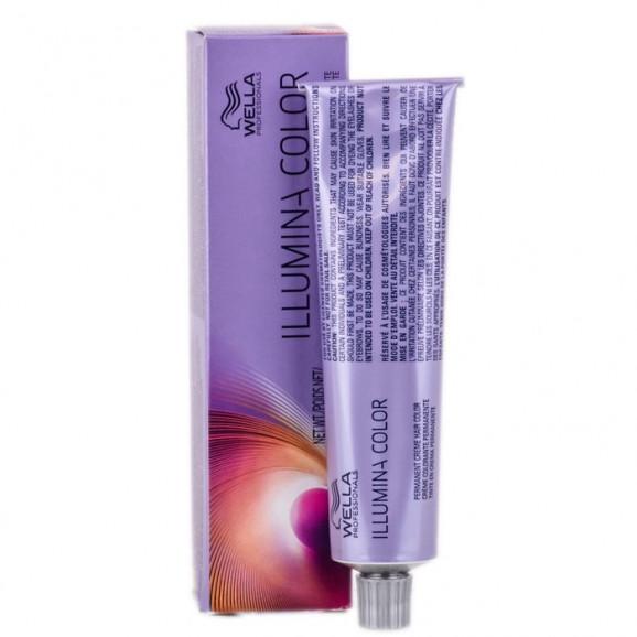 Tintura Wella Professionals Illumina Color - 60ml-8.69 - Louro Claro Violeta Cendré