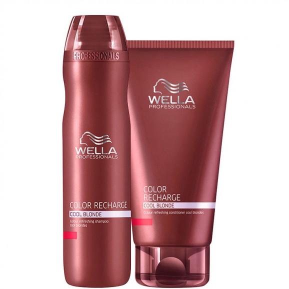 Wella Professionals Color Recharge Cool Blonde Kit (2 Produtos)