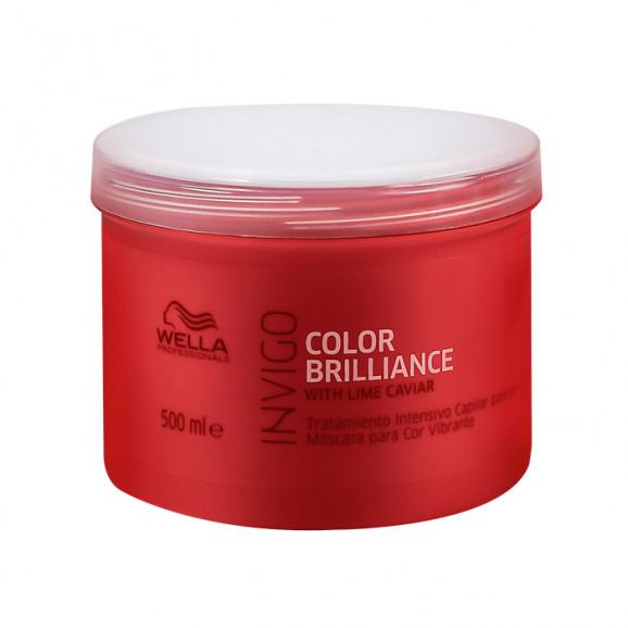Máscara Wella Professional Invigo Color Brilliance 500ml