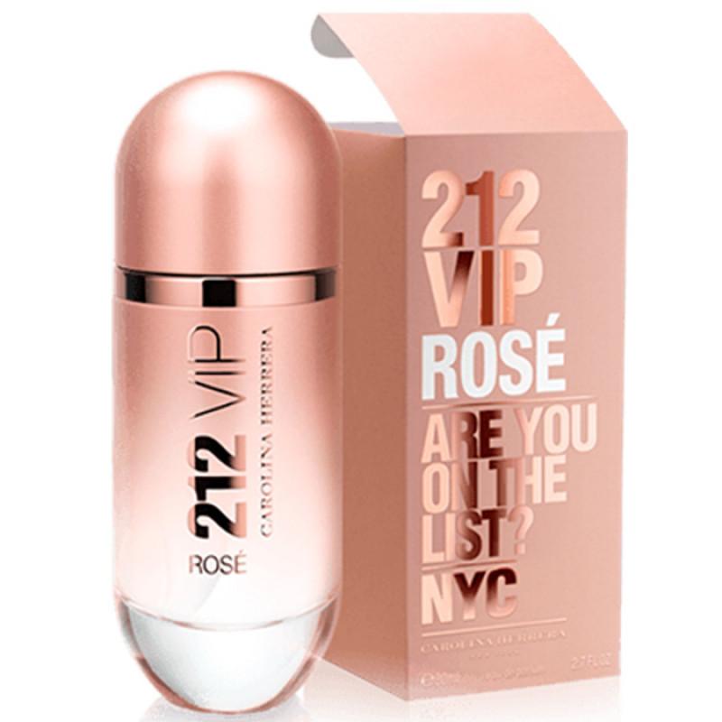 fc7a85635 Perfume 212 Vip Rose 80ml - Carolina Herrera - Meu Salão Cosméticos ...
