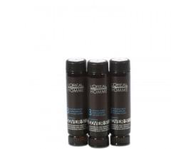 L´oréal Professionnel Homme Cover 5 Castanho Escuro 3 - Coloração 3x50ml