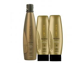 Kit Aneethun Blond System (3 Produtos)