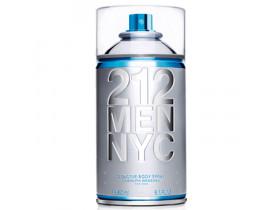 Perfume 212 Men Nyc Body Spray Masculino 250ml - Carolina Herrera