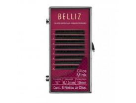 Cílios Belliz para Alongamenteo Mink B 006 Mix