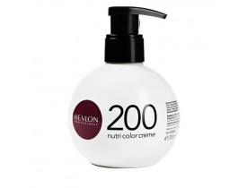 Coloração Creme Revlon Nutri Color 200 Violeta 250ml