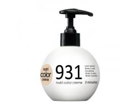 Coloração Creme Revlon Profissional Nutri Color Creme 931 Bege Claro 250ml