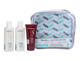 Kit Travel Senscience Silk Moisture (3 Produtos + Necessárie)