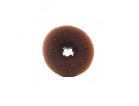 Prendedor de Cabelo - Esponja Donuts Marrom