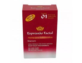 Henna Para Sobracelhas Expressão Facial Marrom