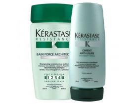 Kerastase Resistance Bain Force Kit (2 Produtos)