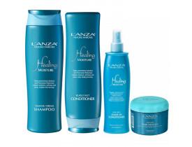 Kit Lanza Healing Moisture Holiday (4 produtos)