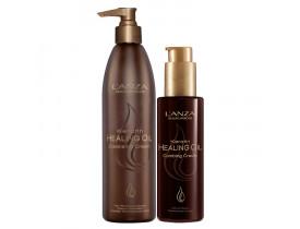 Kit Lanza Keratin Healing Oil Cream (2 Produtos)