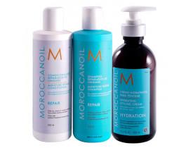 Morocannoil Repair Kit (3 Produtos)