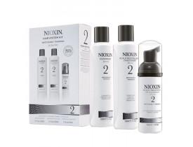 Kit Nioxin Para Cabelo Fino 2 (3 Produtos)