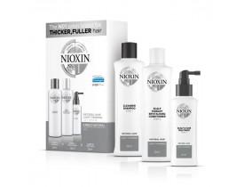 Kit Nioxin System 1 Pequeno (3 Produtos)