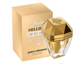Perfume Lady Million Eau My Gold EDT Feminino 80ml - Paco Rabanne