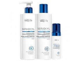 Kit Loreal Serioxyl Fuller Hair (3 produtos)
