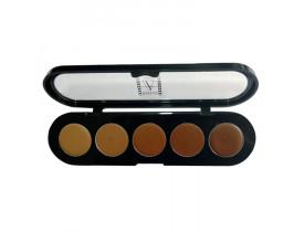 Paleta de Corretivos 5 cores C/COR - Make Up Atelier Paris 10g