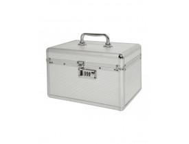 Maleta Vertix Aluminio Prata Cod. 3046