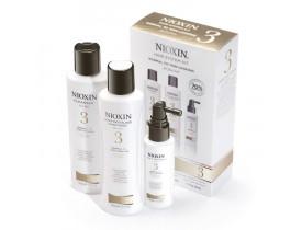 Kit Nioxin System 3 Para Cabelos Finos (3 Produtos)