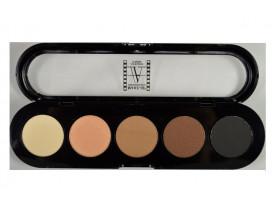 Paleta de Sombras T03s - Palette 5 Cores - Make Up Atelier Paris