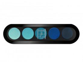 Paleta de Sombras T25 - Palette 5 Cores - Make Up Atelier Paris